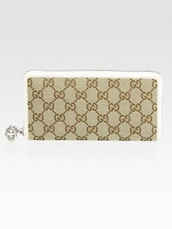 Gucci - GG Twins Zip-Around Wallet