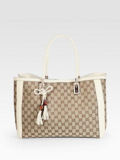 Gucci - Bella Original GG Canvas Tote