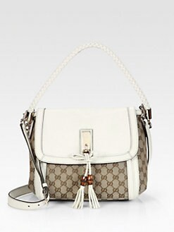 Gucci - Bella Original GG Canvas Shoulder Bag