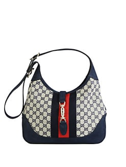 Gucci - Jackie Original GG Canvas Shoulder Bag
