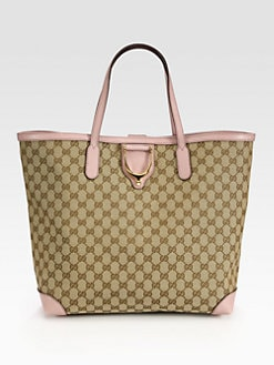 Gucci - Soft Stirrup Original GG Canvas Tote