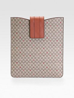 Gucci - GG Supreme Canvas iPad Case