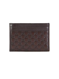 Gucci - GG Pierce Leather Card Case