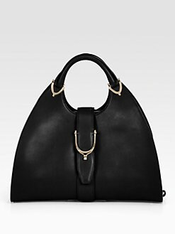 Gucci - Stirrup Medium Top Handle Bag
