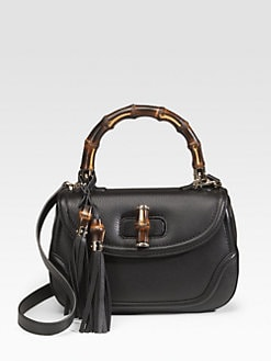 Gucci - New Bamboo Medium Top Handle Bag