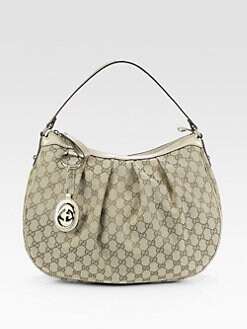 Gucci - Sukey GG Medium Hobo Bag