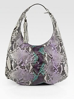 Gucci - Soho Large Python Hobo Bag