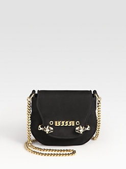 Gucci - Tigrette Small Nubuck Shoulder Bag