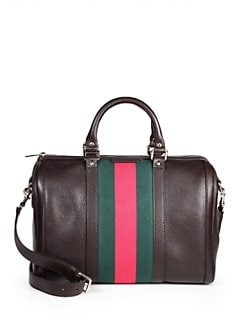 Gucci - Vintage Web Medium Boston Bag