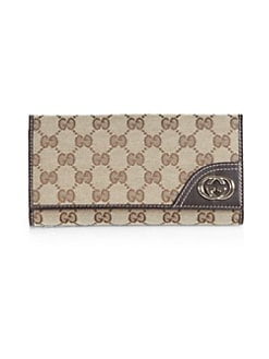 Gucci - New Britt GG Continental Wallet