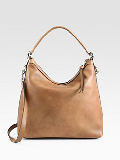 Gucci - Miss GG Leather Hobo