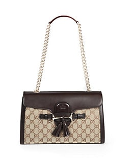 Gucci - Emily Original GG Canvas Chain Shoulder Bag