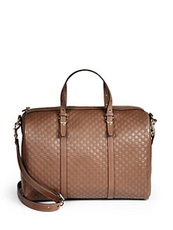 Gucci - Gucci Nice Microguccissima Leather Boston Bag