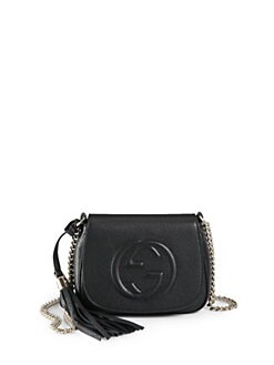 Gucci - Soho Leather Chain Shoulder Bag