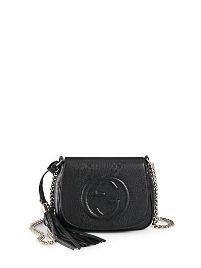 Soho Leather Chain Shoulder Bag