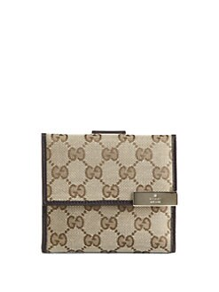 Gucci - Gucci Dice French Flap Wallet