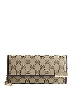 Gucci - Dice Original GG Canvas Chain Wallet