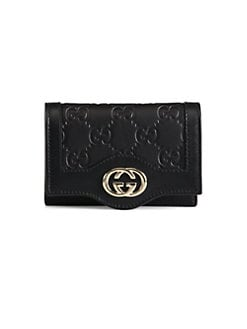 Gucci - Sukey Guccissima Leather Card Case