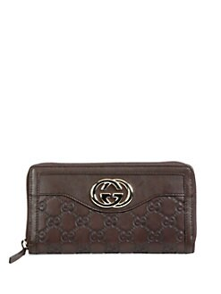 Gucci - Sukey Guccissima Leather Zip Around Wallet