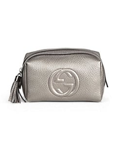 Gucci - Soho Leather Cosmetic Case