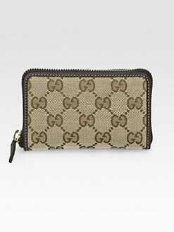 Gucci - Original GG Canvas Card Case
