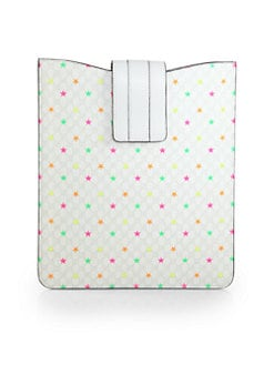 Gucci - GG Supreme Canvas Stars Case For iPad 1, 2 & 3