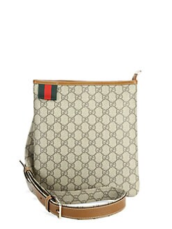 Gucci - Gucci Vintage Signature Web Loop Messenger Bag