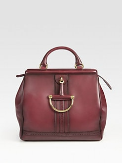Gucci - Duilio Horsebit Top Handle Bag