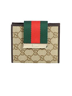 Gucci - Ladies Web Medium Wallet