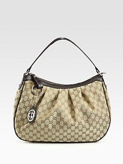 Gucci - Sukey Original GG Medium Hobo