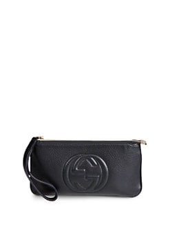 Gucci - Soho Leather Wristlet