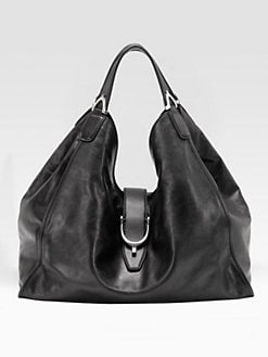 Gucci - Soft Stirrup Large Shoulder Bag/Calf Leather