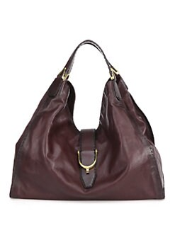 Gucci - Soft Stirrup Large Shoulder Bag/Burnished Leather