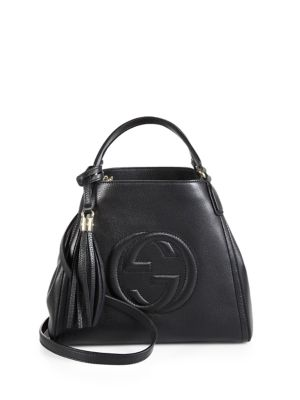 gucci female 188971 soho leather shoulder bag