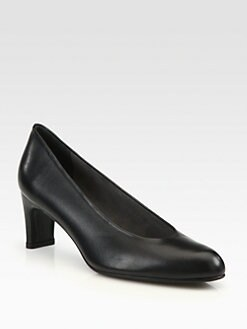 Stuart Weitzman - Chicpump Leather Pumps