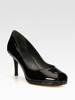 Stuart Weitzman - Vase Patent Leather Pumps