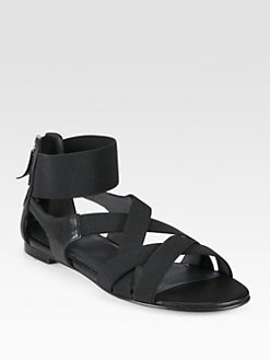 Stuart Weitzman - Lasting Crisscross Banded Sandals