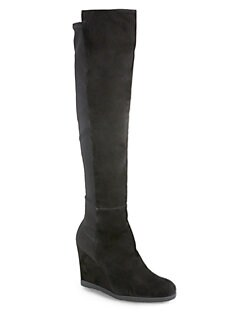 Stuart Weitzman - Swoon Over-The-Knee Wedge Boots