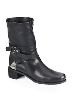 Stuart Weitzman - Ranch Dressing Motorcyle Ankle Boots