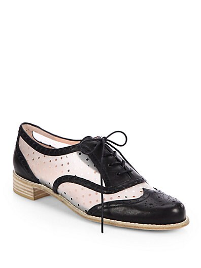 Dandy Perforated Oxford Shoes