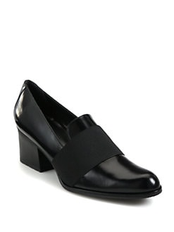 Stuart Weitzman - Oliver Leather Loafers