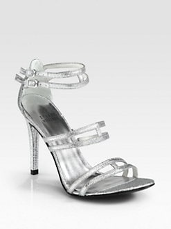 Stuart Weitzman - Traffic Glitter Sandals