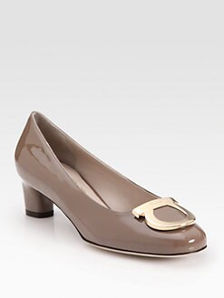 Salvatore Ferragamo - Patent Leather Pumps