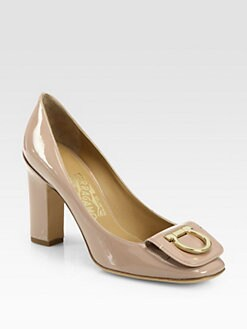 Salvatore Ferragamo - Rebi Patent Leather Pumps