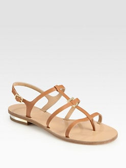 Salvatore Ferragamo - Senia Leather Sandals