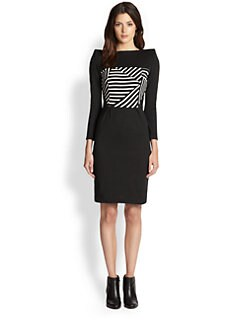 Boy. by Band of Outsiders - Blocked Breton Stripe Dress