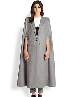 Boy. by Band of Outsiders - Peak Shoulder Cape