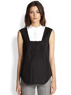 Boy. by Band of Outsiders - Sleeveless Bib Shirt