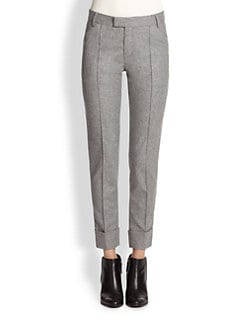 Boy. by Band of Outsiders - Cuffed Flannel Pants