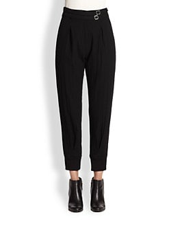 Boy. by Band of Outsiders - High-Waisted Wool Gauze Pants